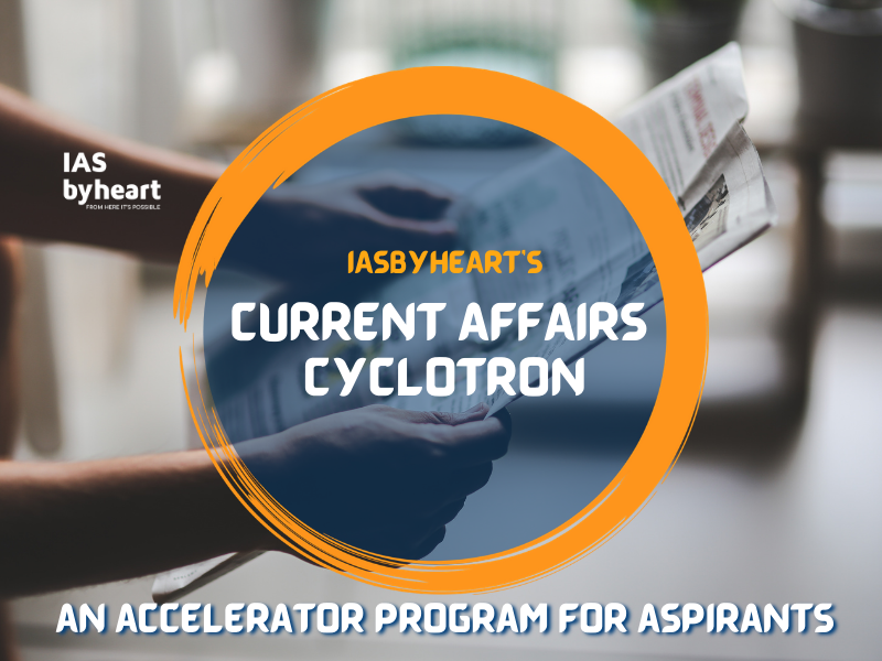 CURRENT AFFAIRS CYCLOTRON